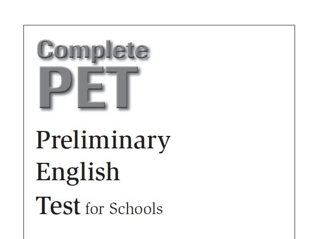 PET for Schools – Practice test – EnglishVillage EU