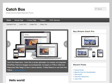 Catch Box screenshot