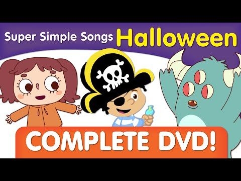 Super Simple Songs Halloween.Halloween Songs For Kids Full Dvd From Super Simplesongs
