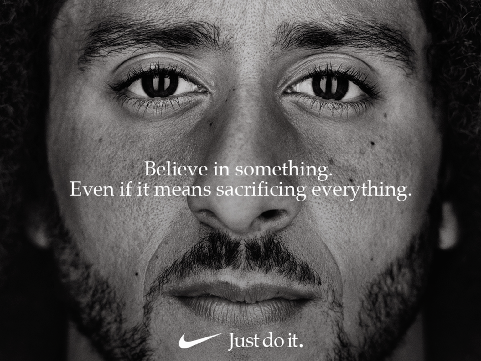 Colin Kaepernick @Kaepernick7@Nike #JustDoit Campaign & National Anthem Kneeling Row #TakeTheKnee @realDonaldTrump